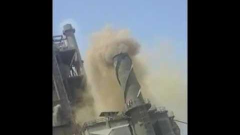 Wadi al-Qamar residents capture emissions from Titan's Alexandria Portland Cement
